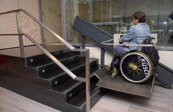 Accesibilidad desde el portal del edificio
